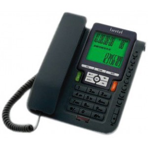 Beetel M71 Corded Landline Phone  (Black)