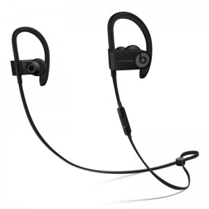 BEATS POWE RBEATS 3 BLUETOOTH WIRELESS IN EAR EARPHONES WITH MIC (BLACK)