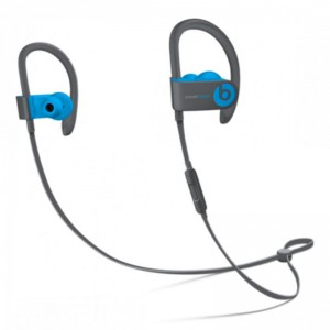 BEATS POWER BEATS 3 BLUETOOTH WIRELESS IN EAR EARPHONE WITH MIC (FLASH BLUE)