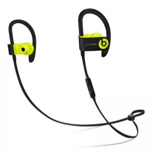 BEATS POWER BEATS 3 BLUETOOTH WIRELESS IN EAR EARPHONES WITH MIC (SHOCK YELLOW)