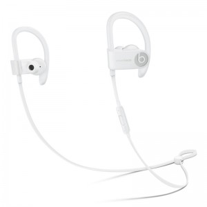 BEATS POWERBEATS 3 BLUETOOTH WIRELESS IN EAR EARPHONE WITH MIC (WHITE)