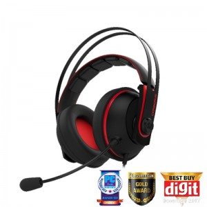 ASUS GAMING HEADPHONE - CERBERUS V2 (RED)