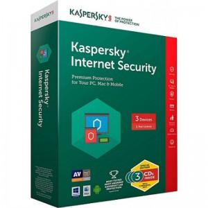 KASPERSKY ANTIVIRUS I/S 3 USER 1 YEAR