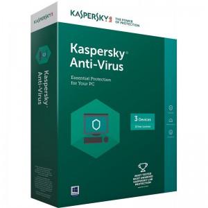 KASPERSKY ANTIVIRUS 3 USER 3 YEAR