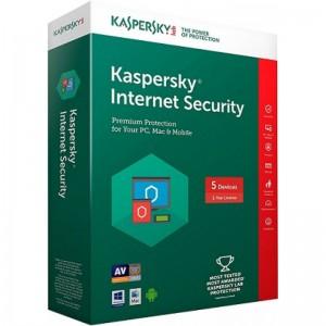 KASPERSKY ANTIVIRUS I/S 5 USER 1 YEAR