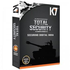 K7 ANTIVIRUS TOTAL SECURITY 1PC 1YEAR