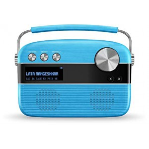 Saregama Carvaan 6 W Bluetooth Home Audio Speaker hindi(Electric Blue)