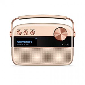 Saregama Carvaan 6 W Bluetooth Home Audio Speaker Hindi(rose gold)
