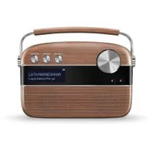 Saregama Carvaan 6 W Bluetooth Home Audio Speaker Hindi(Oakwood Brown)