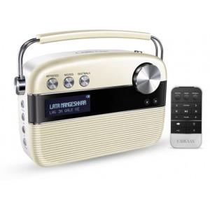 Saregama Carvaan 6 W Bluetooth Home Audio Speaker Hindi(Porcelain White)