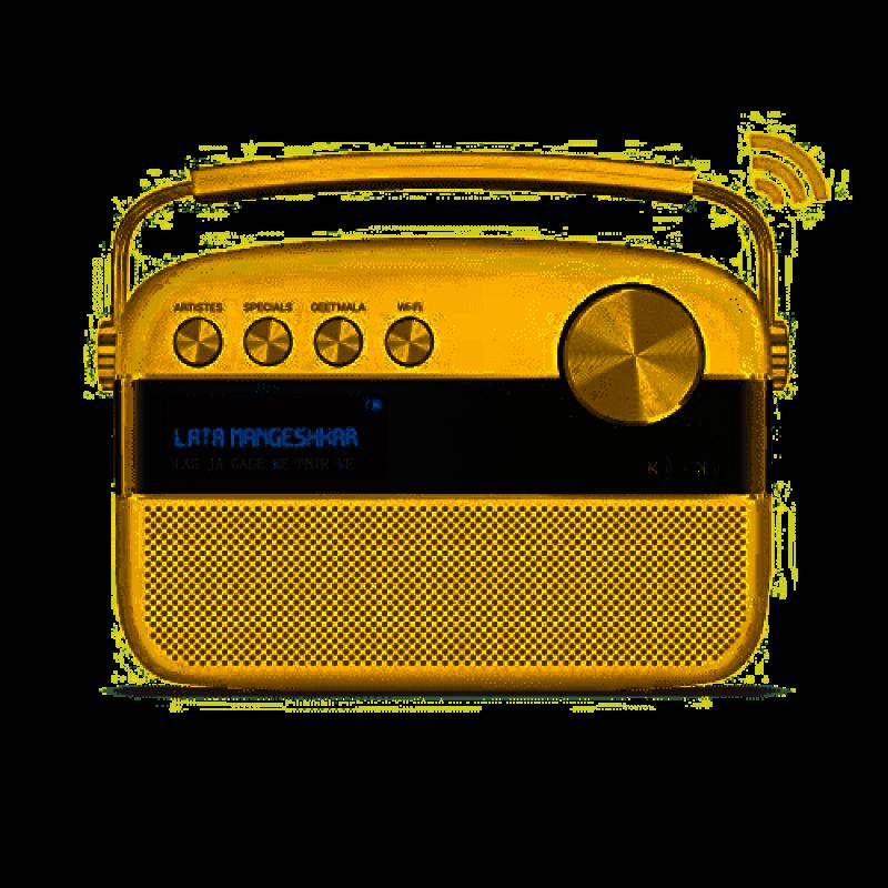 Saregama Carvaan 2.0 Portable Digital Music Player (Rose Gold) - Sound by Harman/Kardon