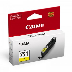 CANON CARTRIDGE CLI 751 YELLOW