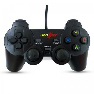 RED GEAR GAMEPAD WIRED SMARTLINE
