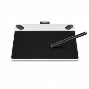 WACOM PEN TABLET INTUOS DRAW SMALL CTL-490/W0-CX (WHITE)