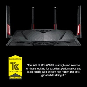 ASUS WIRELESS DUAL-BAND GIGABIT ROUTER - RT-AC88U