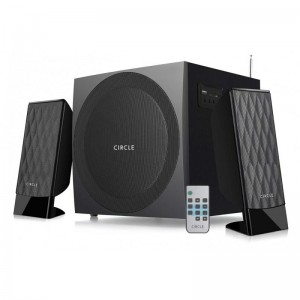 CIRCLE 2.1 SPEAKER - CT-360RC WITH USB/SD/FM