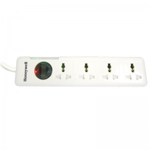 HONEYWELL SURGE PROTECTOR PLATINUM SERIES 4 SOCKET 1.5 METER POWER CABLE
