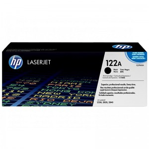 HP CARTRIDGE TONER LASERJET 122A BLACK