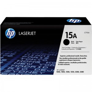 HP CARTRIDGE TONER LASERJET 15A BLACK