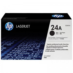 HP CARTRIDGE TONER LASERJET 24A BLACK