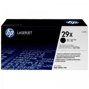 HP CARTRIDGE TONER LASERJET 29X BLACK