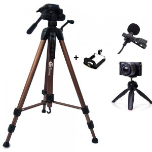 Tripod Stand 360 Degree 940mm Extendable Stretch 3110 Portable Digital Camera Mobile Stand Holder, Camcorder