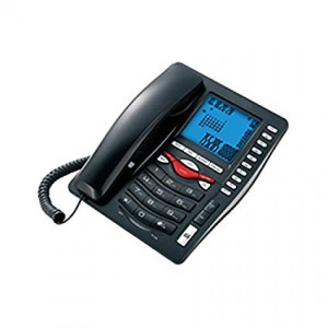 Beetel M75 Corded Landline Phone  (Black)