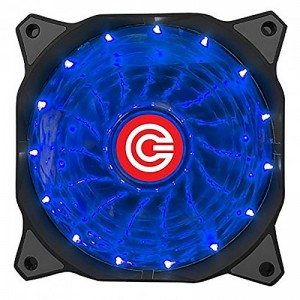 CIRCLE CABINET FAN CG 16XB BLUE - 120 MM FAN WITH BLUE LED