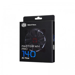 COOLER MASTER CABINET FAN MASTERFAN PRO 140 — AIR FLOW