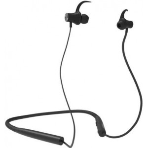 Corseca Nek Plus Bluetooth Headset with Mic  (Black, In the Ear)