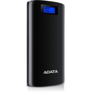 ADATA P20000D 20000mAH Power Bank with Digital Display & LED Flash Light
