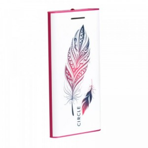 CIRCLE POWER BANK CLP 5200 mAh (FEATHER DESIGNER)