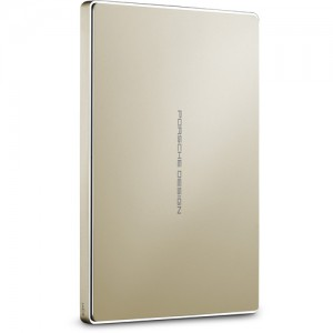 LaCie 2TB Porsche Design USB 3.0 Type-C Mobile Drive (Gold)