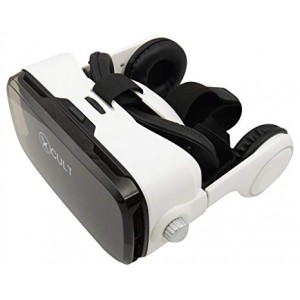 CULT CULTVR00013D 3D VR Glasses (White and Black)