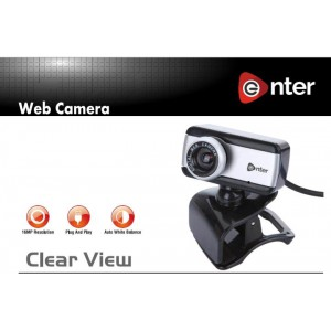 Enter Clear View webcam 16 MP High quality CMOS Sensor